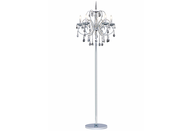 Modern Crystal Floor Lamp-KYC4001-FL
