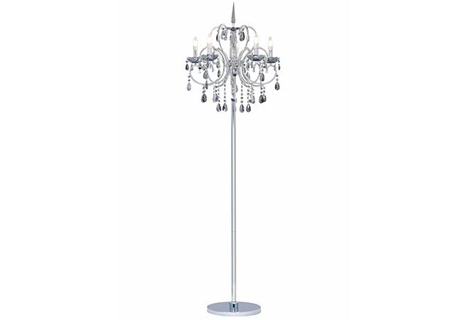 Modern Crystal Floor Lamp-KYC4001-FL
