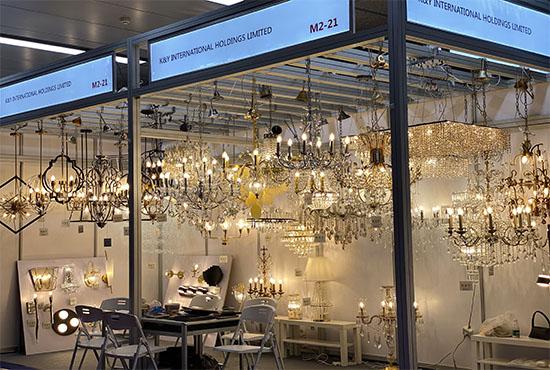K&Y lighting trade show