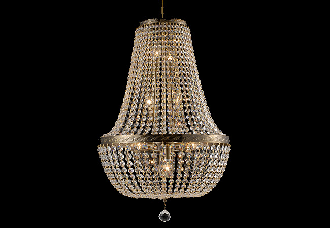 Antique Crystal Pendant lamp-KY0905