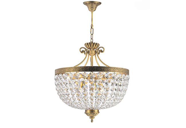 Classical Crystal Pendant Lamp-KY Y1110BR50