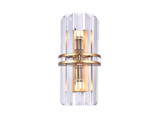 Gold Crystal Wall Sconce -KYY3960-W