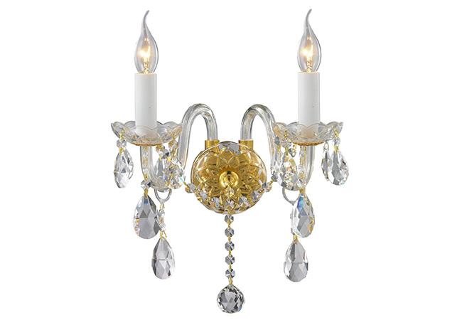 Elegant Glass Wall Lamp-KYY4025G33