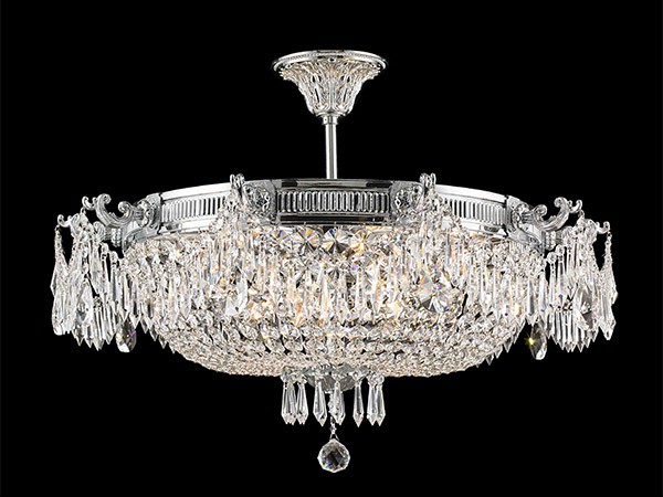 Antique Crystal ceiling lamp-KY Y1112C75