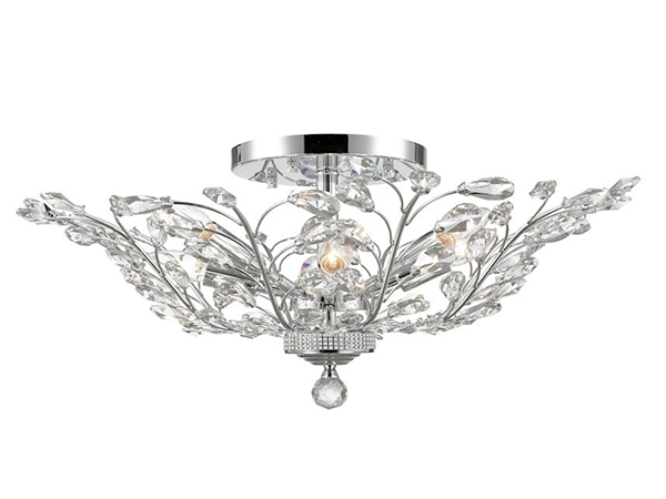 Contemporary Crystal Ceiling Lamp-KYY6014