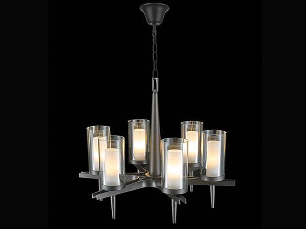 Dark Bronze Modern Chandelier- KY Y6172
