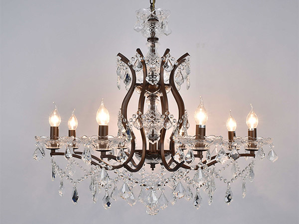 Antique Wrought Iron chandeliers-KYY7003AB76