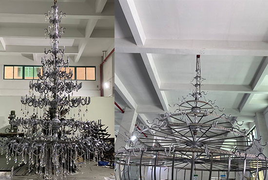 Big Custom Chandeliers for Projects
