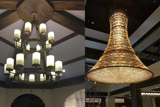 Custom Lighting for Hotel Projects