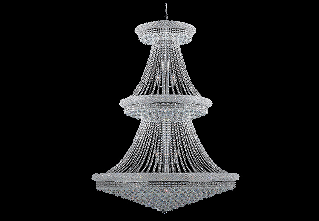 Custom Crystal Lighting-Bespoke Pendant Light-KY Y3020