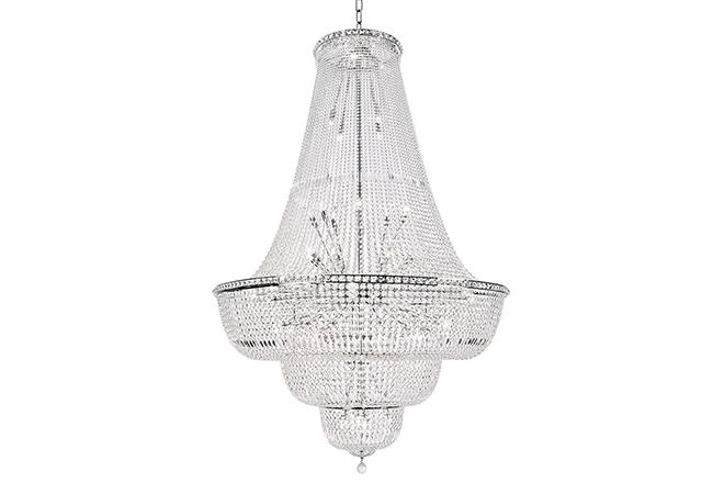 Crystal Custom Lighting-Large Empire chandelier-KYY3980