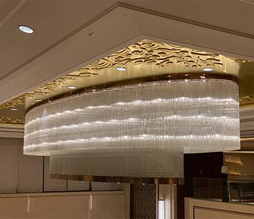 K&Y Custom Lighting For Hotel Lobby