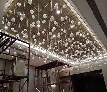 K&Y Custom Lighting For Art Hotel