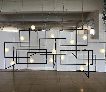 modern cusotm lighting