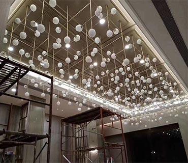 hotel lighting-bespoke lighting