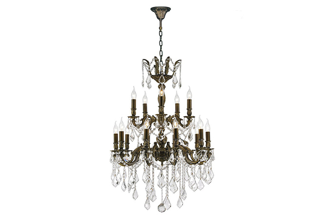 Luxury Wrought Iron Chandelier- KY Y1036AB