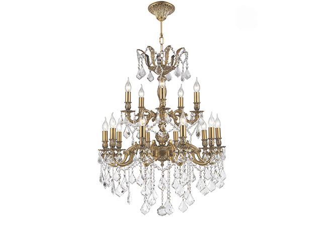 Antique Wrought Iron Chandeliers-KYY1038B76