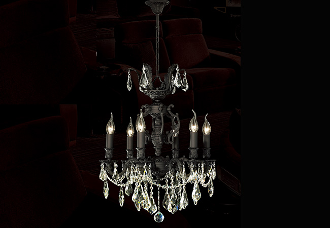 Bronze Antique Chandelier- KY Y1053DB
