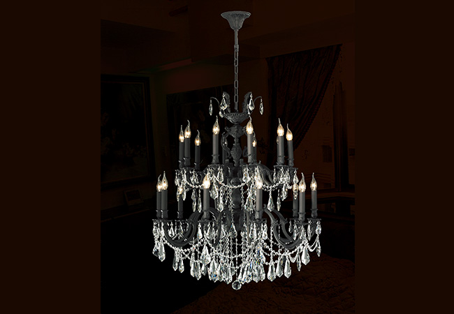Bronze Antique Chandelier- KY Y1056DB