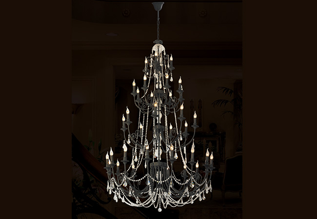Custom Antique Chandelier- KY Y1062DB