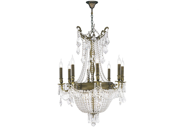 Empire Antique Chandelier- KY Y1092B