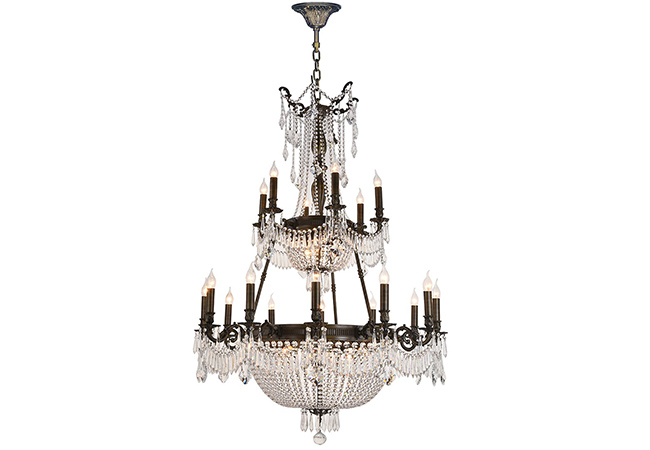 Custom Empire Antique Chandelier- KY Y1095B