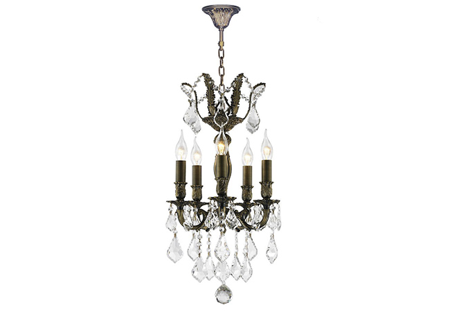 Simple Design Wrought Iron Chandelier- KY Y1201AB