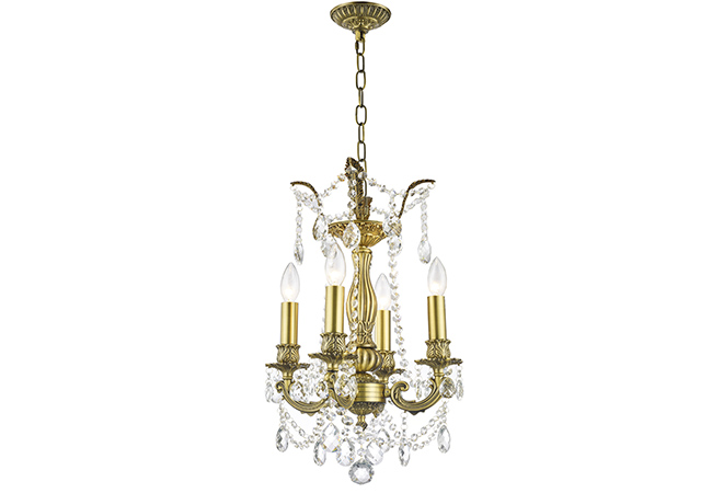 Simple Design Wrought Iron Chandelier- KY Y1201B