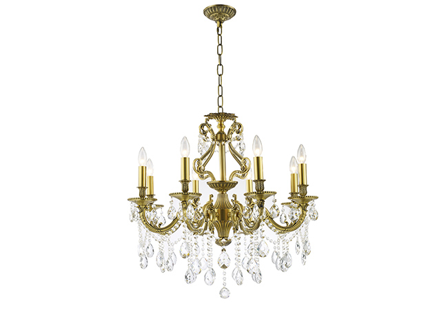 New Design Wrought Iron Chandelier- KY Y1202B