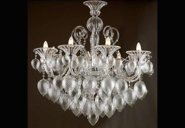 Modern Design Glass Chandelier - KY Y4092-C