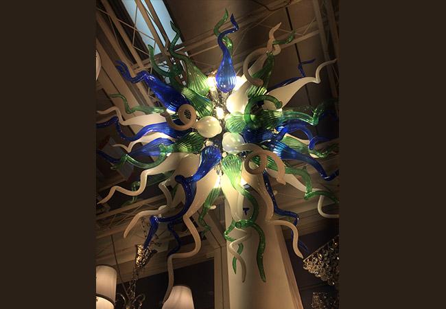 Elegant Design Glass Chandelier - KY Y4093