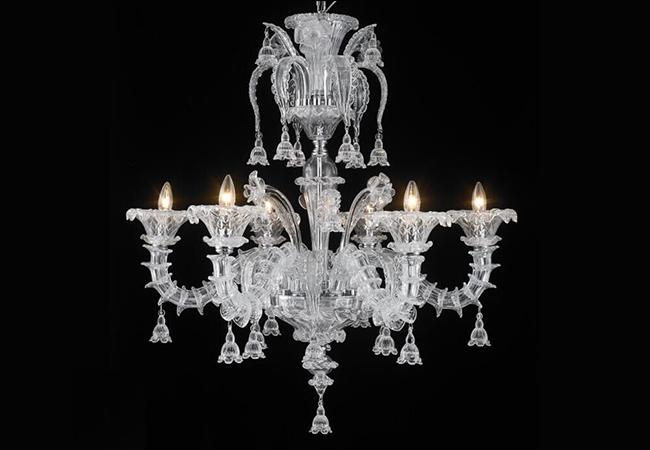 Elegant Design Glass Chandelier - KY Y4094