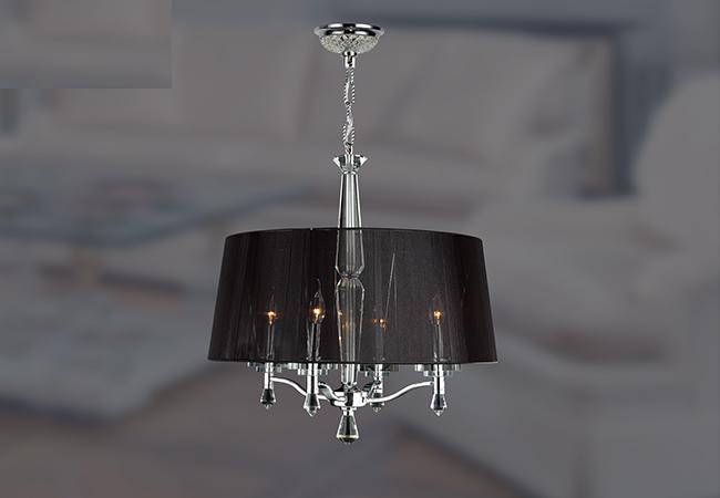 Black Modern Chandelier- KY Y6102