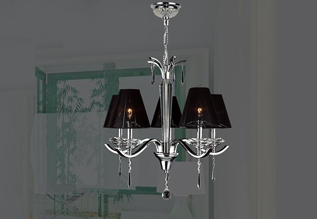 Black Modern Chandelier- KY Y6107C