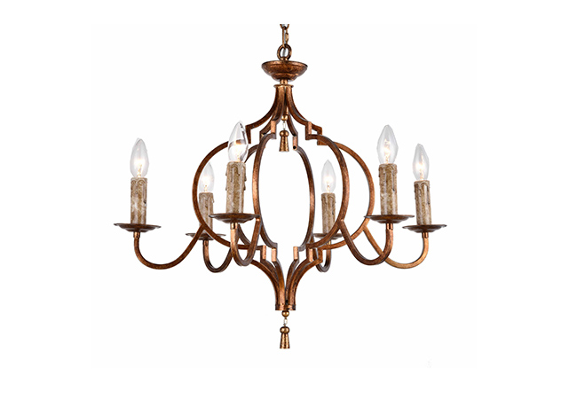 Simple Design Antique Chandelier- KY Y6951
