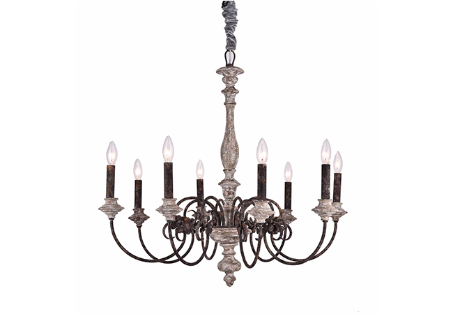 Elegant Antique Chandelier- KY Y6952