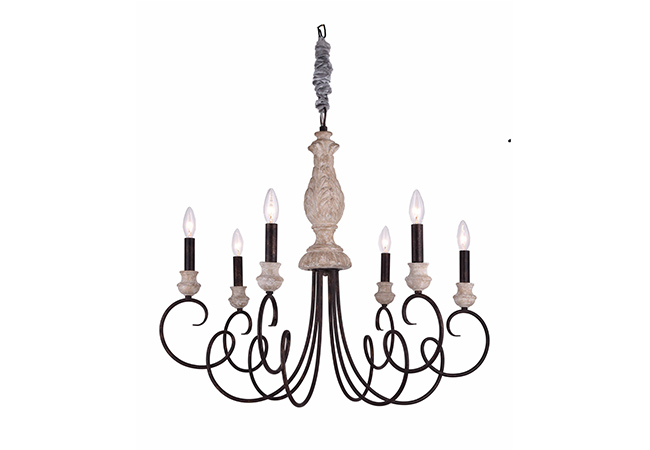 New Design Antique Chandelier- KY Y6953-6L