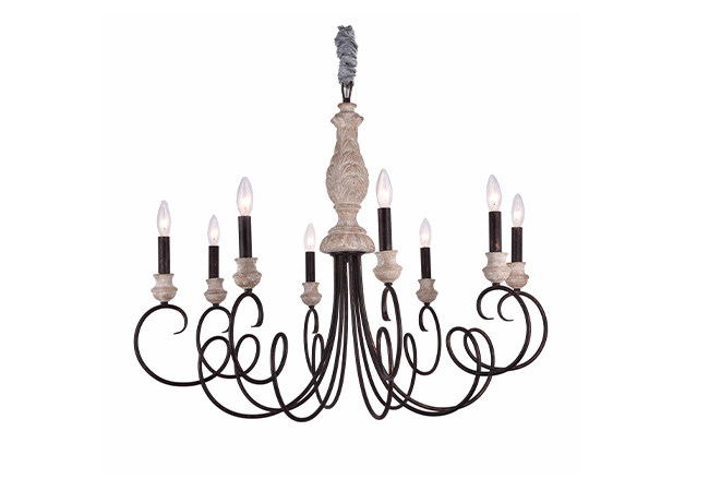 New Design Antique Chandelier- KY Y6953-8L