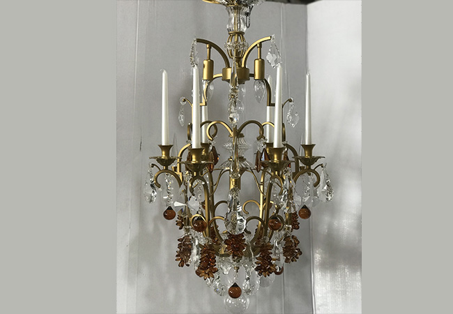 Luxury Antique Chandelier with Candles- KY Y6963