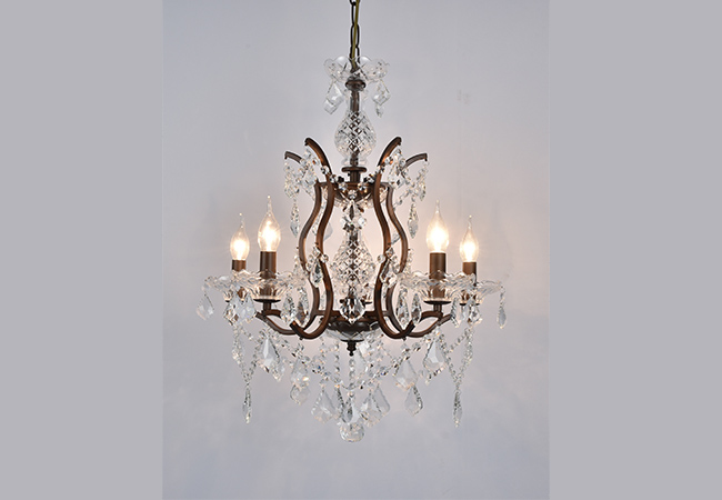 Antique Wrought Iron Chandeliers- KY Y7003AB54