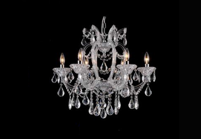 Classical Maria Theresa Crystal Chandelier KY10221-6L