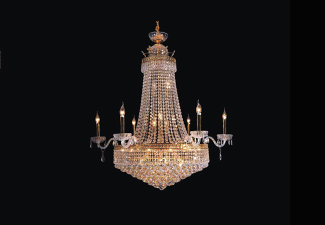 Luxury Crystal Chandelier- KY23275 GD