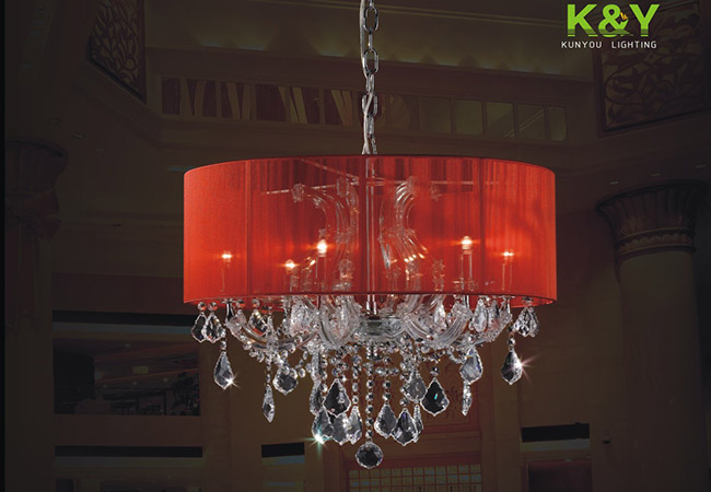 Maria Theresa Traditional Crystal Chandelier KY2615-6L-S