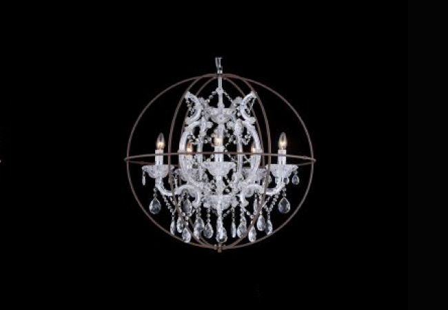 Maria Theresa Crystal Chandeliers KY4307R-5L