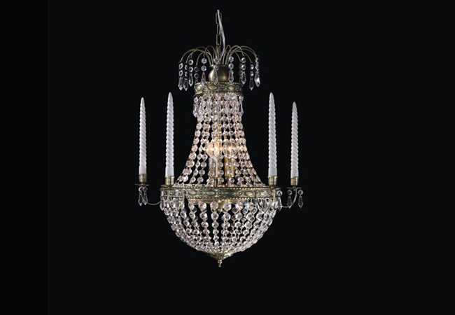 Vintage Antique Chandelier - KY829