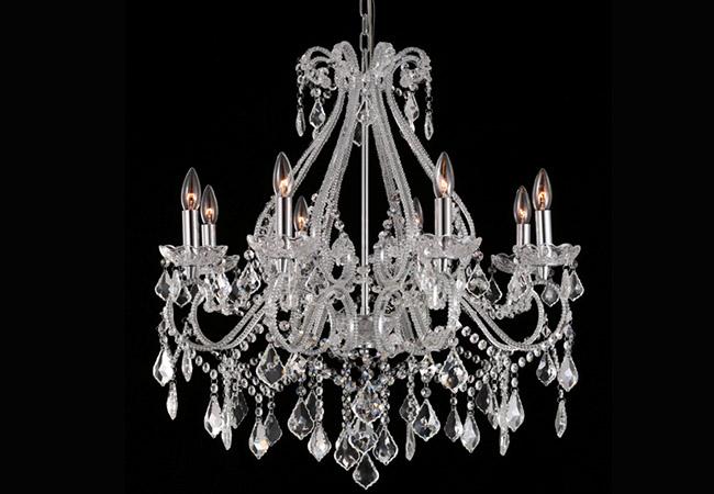 Antique Crystal Chandelier- KYA25-8L