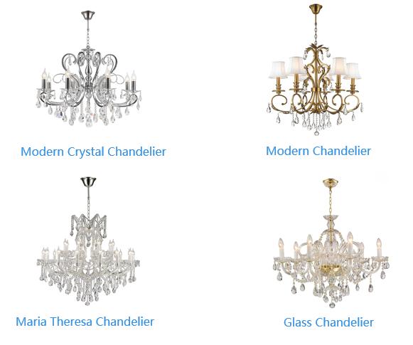chandelier type