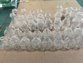 custom lighting glass