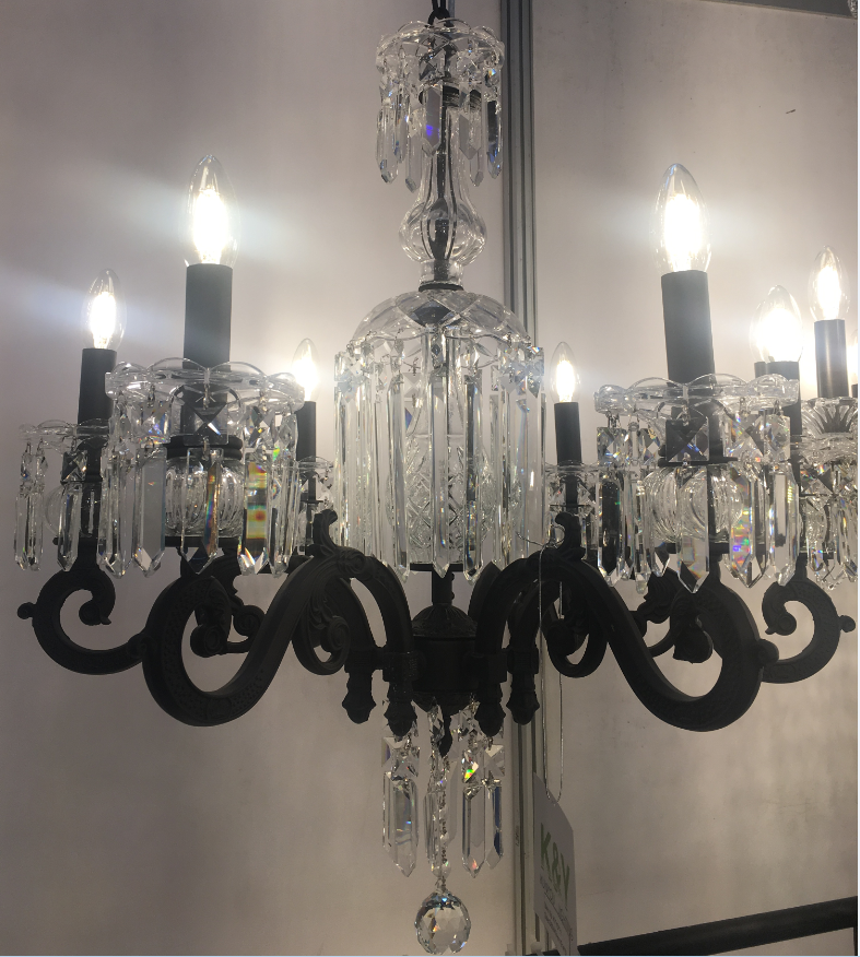 custom wrought iron chandelier-1