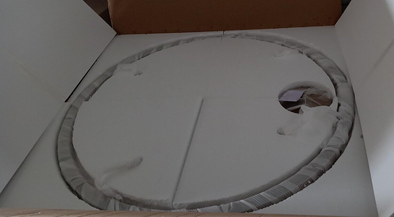 modern led chandelier packaging